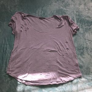 Purple Charlotte Russe top